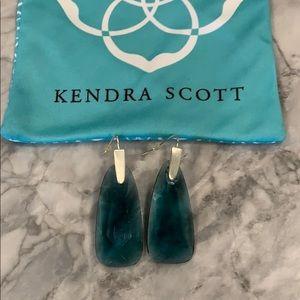 Kendra Scott Maize Earrings - Teal